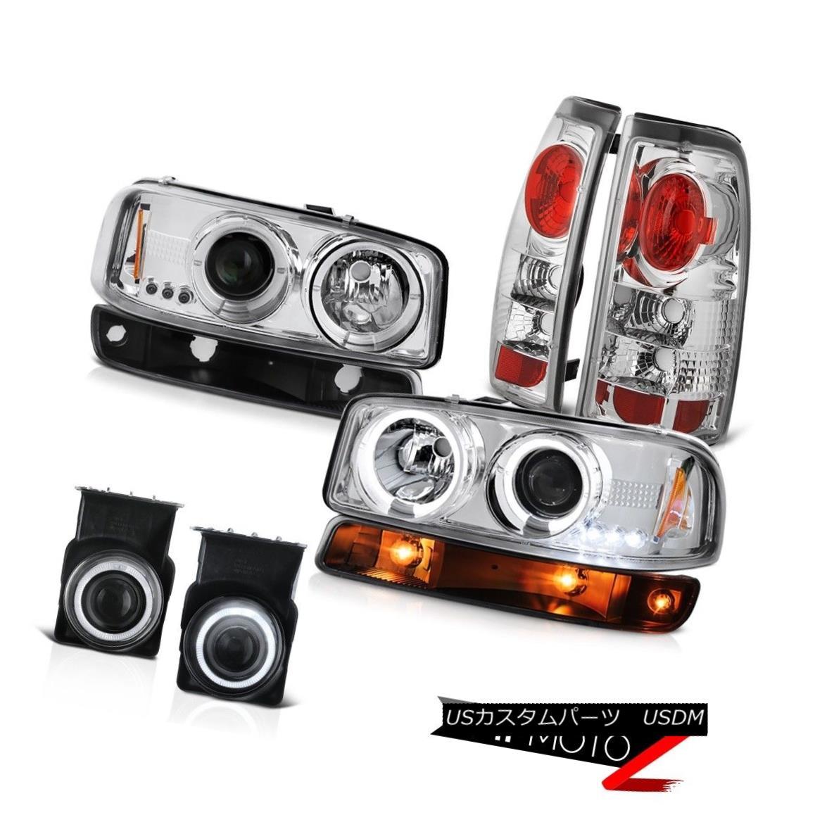 テールライト 03 04 05 06 Sierra 4.3L Chrome foglights taillamps bumper light headlights LED 03 04 05 06シエラ4.3LクロームフォグライトテールライトバンパーライトヘッドライトLED
