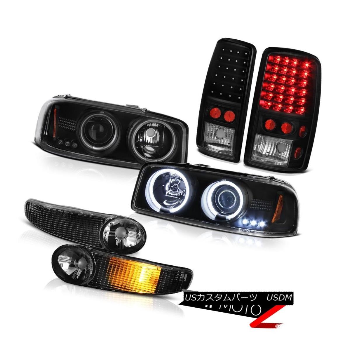 テールライト BRIGHT CCFL Angel Eye Headlight Parking Signal LED Tail Light 00-06 Yukon Denali BRIGHT CCFLエンジェルアイヘッドライトパーキング信号LEDテールライト00-06ユーコンデナリ