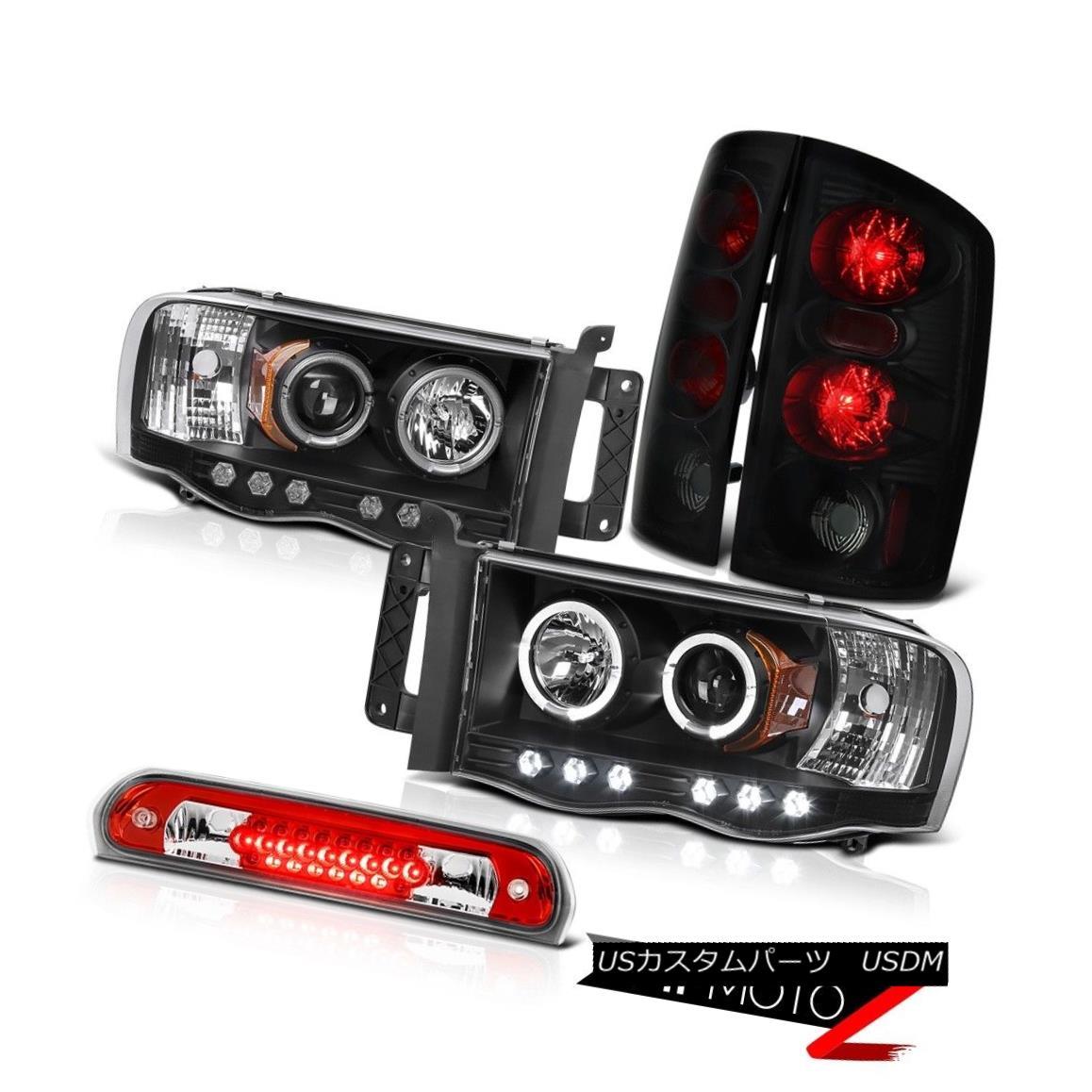 テールライト Headlights Projector Sinister Brake Lights Roof LED Red 02 03 04 05 Ram SRT-10 ヘッドライトプロジェクターシニスターブレーキライトルーフLEDレッド02 03 04 05ラムSRT-10