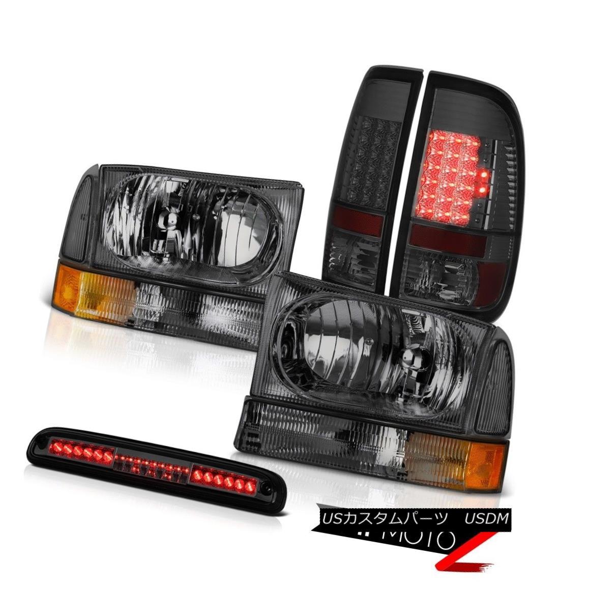 テールライト 99 00 01 02 03 04 F250 XLT Dark Headlight LED Bulbs Taillight High Brake Cargo 99 00 01 02 03 04 F250 XLTダークヘッドライトLEDバルブテールライトハイブレーキ貨物