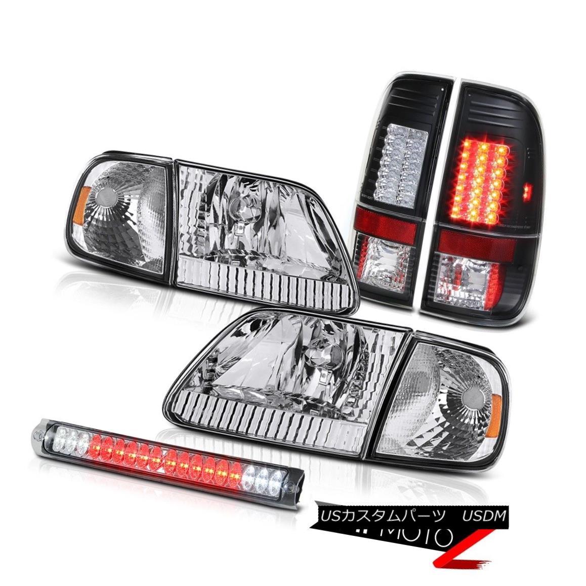 テールライト Clear Headlamps Euro SMD Brake Light Roof Stop LED 97 98 99 00 01 02 03 F150 5.4 クリアヘッドランプユーロSMDブレーキライトルーフストップLED 97 98 99 00 01 02 03 F150 5.4