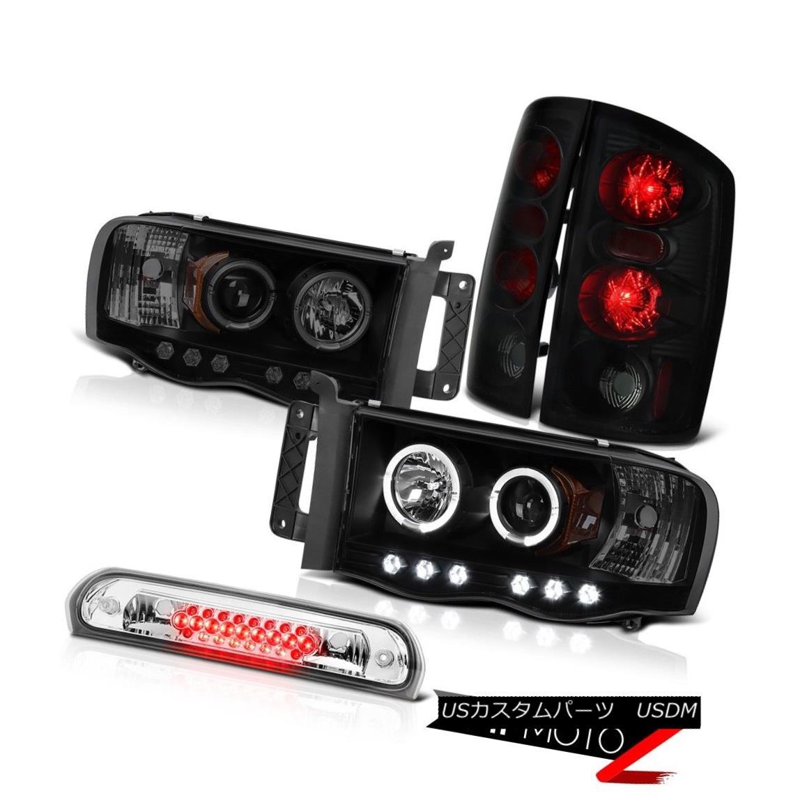 テールライト Halo LED Headlight Sinister Tail Light Roof Stop Clear 02 03 04 05 Ram Magnum V8 Halo LEDヘッドライト不快テールライトルーフストップクリア02 03 04 05ラムマグナムV8