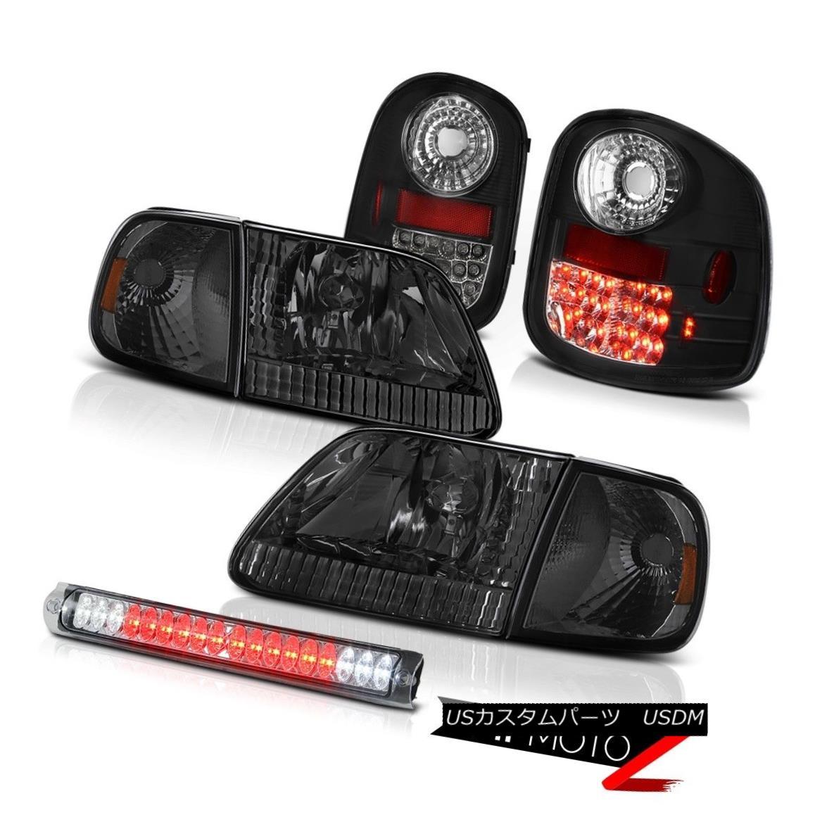 テールライト Tint Headlights LED Bulbs Tail Lights Third Brake 1997-2003 F150 Flareside 4.6L ティントヘッドライトLED電球テールライト第3ブレーキ1997-2003 F150 Flareside 4.6L