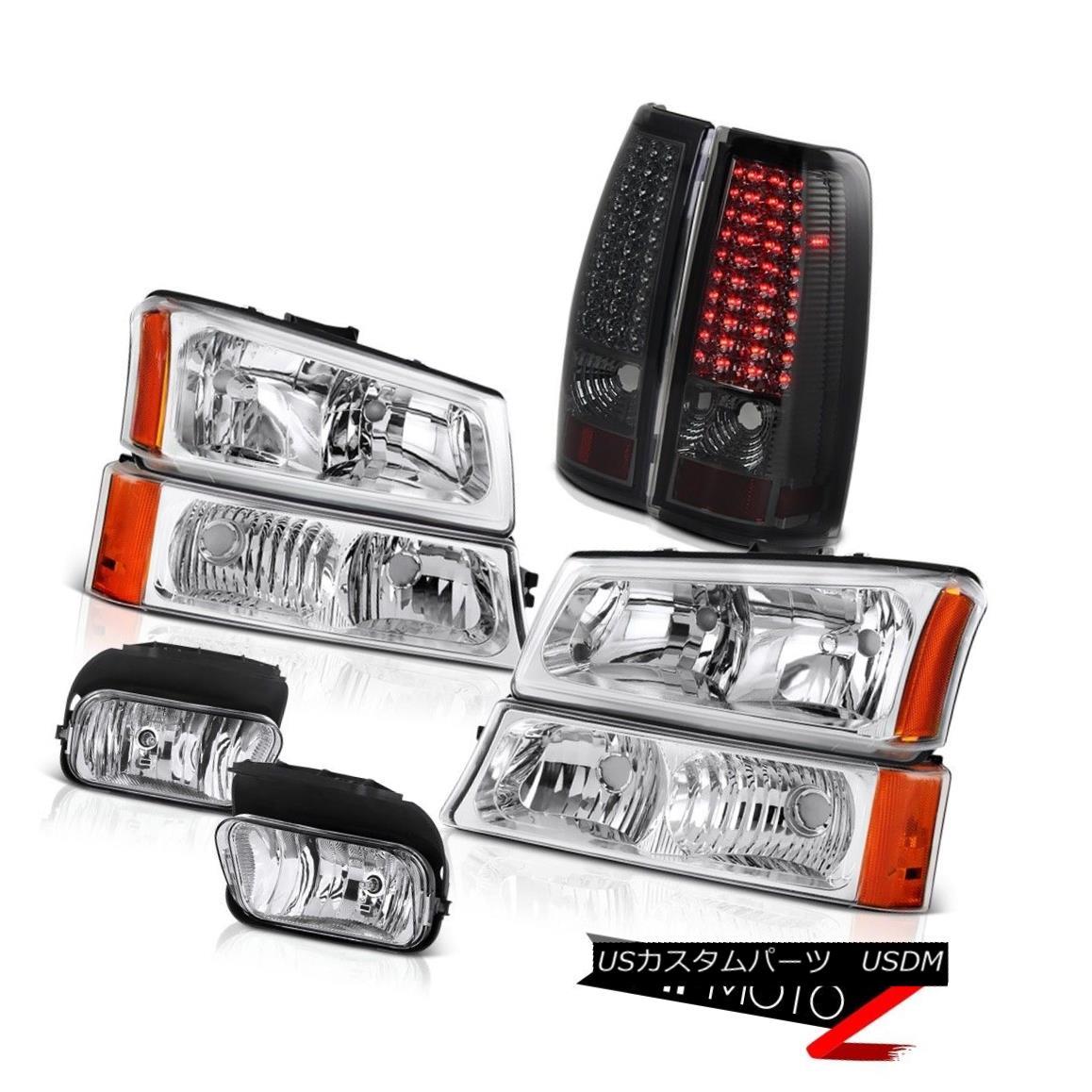 テールライト 03-07 Silverado DuraMax 6.6L Bumper Headlights LED Bulbs Tail Light Driving Fog 03-07 Silverado DuraMax 6.6LバンパーヘッドライトLED電球テールライトドライビングフォグ