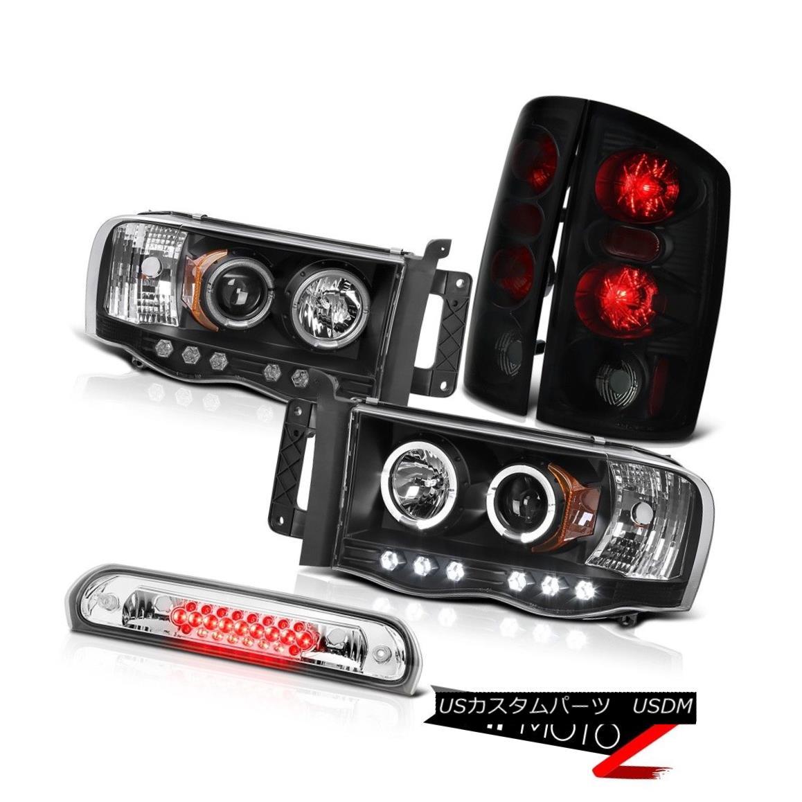 テールライト LED Angel Eye Projector Headlights Brake Tail Lamps Roof Stop 02-05 Ram SRT-10 LEDエンジェルアイプロジェクターヘッドライトブレーキテールランプ屋根停止02-05 Ram SRT-10