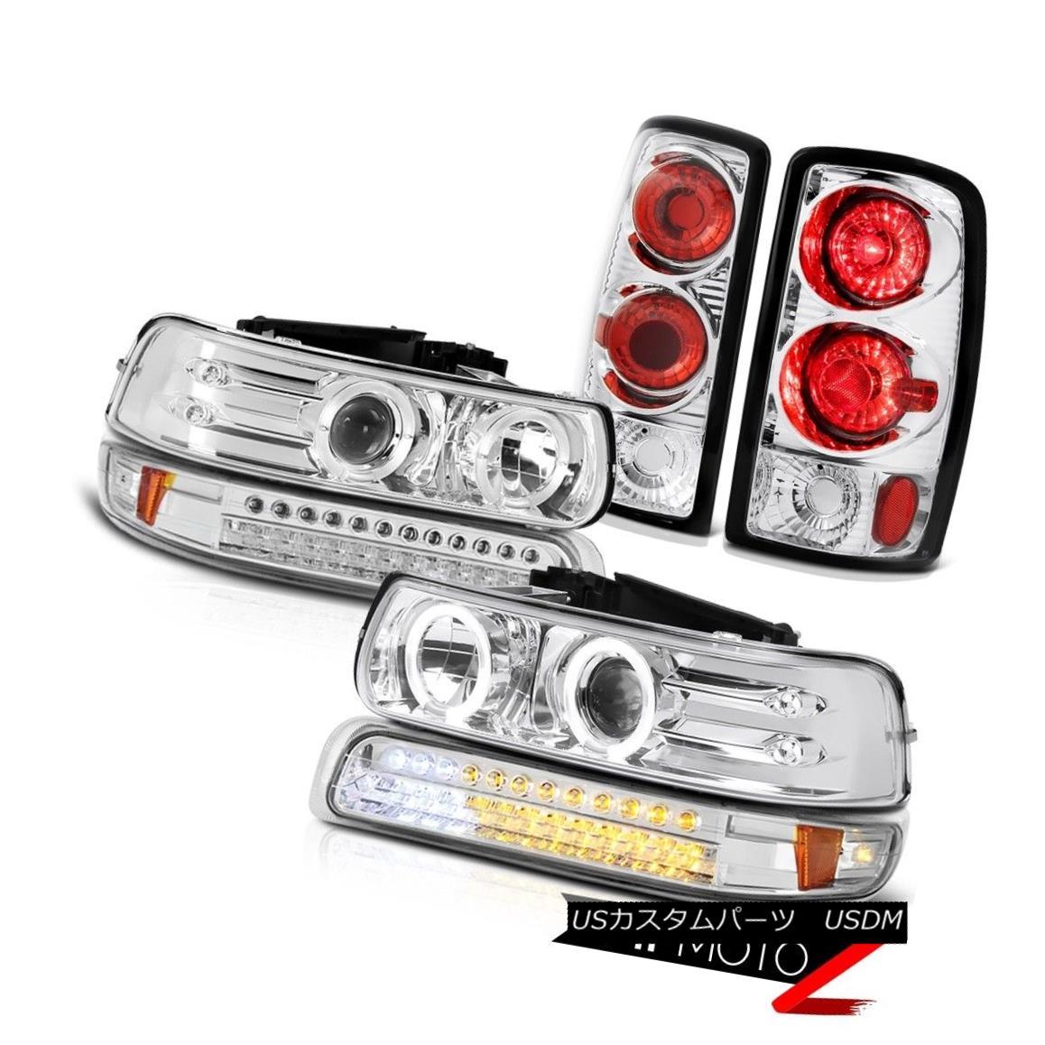 テールライト Projector Headlights SMD Euro Bumper Altezza Tail Lights 2000-2006 Suburban LT プロジェクターヘッドライトSMDユーロバンパーAltezzaテールライト2000-2006郊外LT