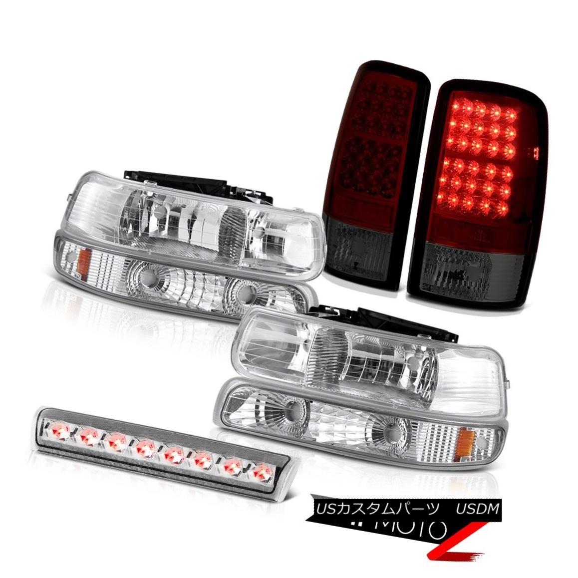 テールライト 00 01 02 03 04 05 06 Suburban 6.0L Parking Headlight Red Tail Lights Roof Brake 00 01 02 03 04 05 06郊外の6.0Lパーキングヘッドライトレッドテールライトルーフブレーキ