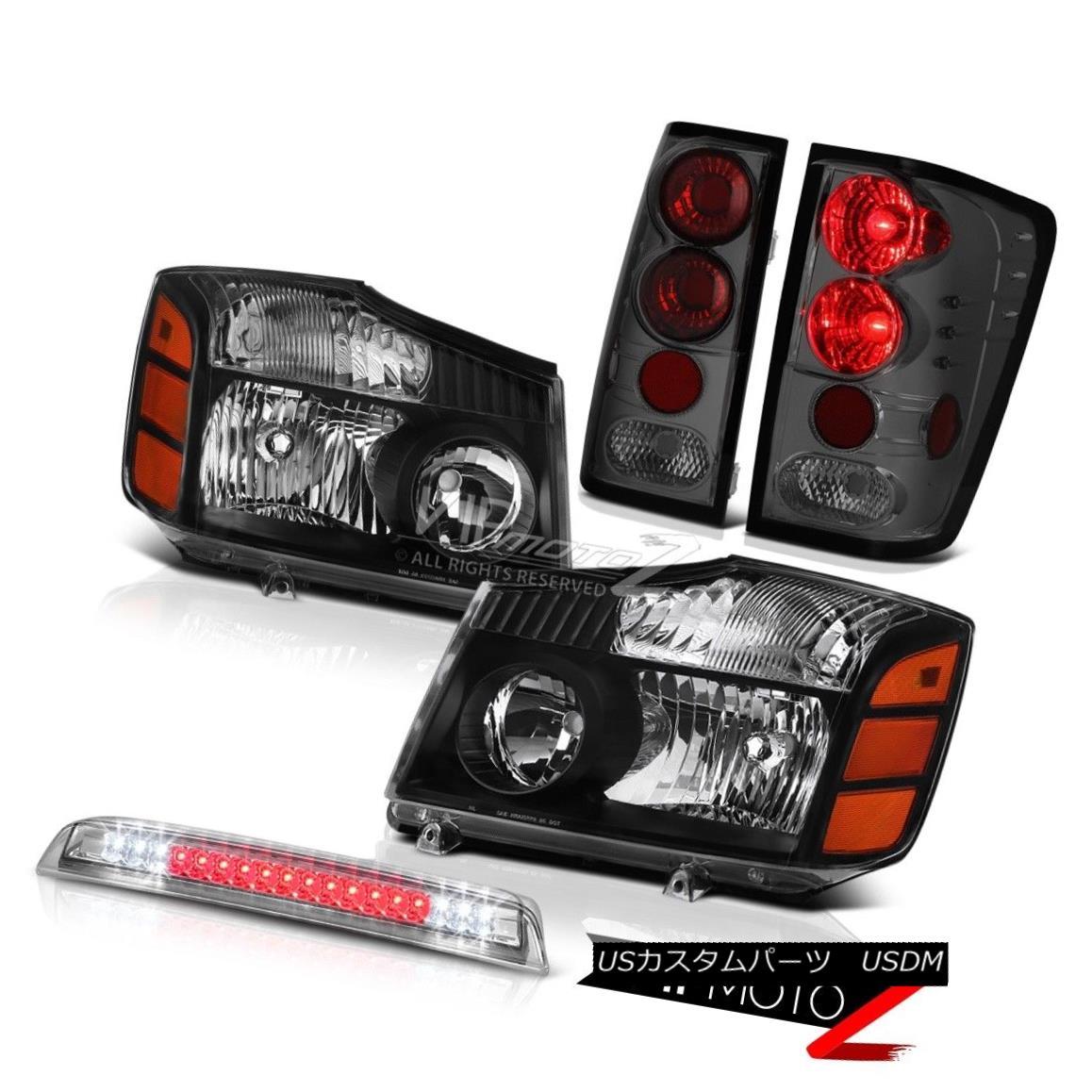 テールライト Left Right Headlamps Taillight Rear Brake Lamp Cargo LED For 2004-2015 Titan SL 左のライトヘッドランプテールライトリアブレーキランプ2004年?2015年の貨物LEDタイタンSL