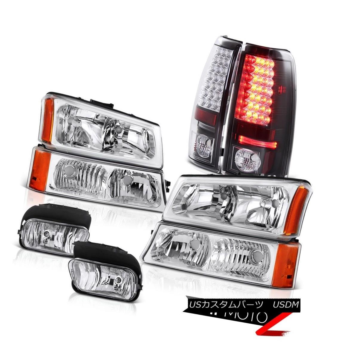 テールライト 2003-2006 Silverado SS Bumper Parking Headlamps SMD Brake Tail Lights Foglights 2003-2006 Silverado SSバンパーパーキングヘッドランプSMDブレーキテールライトフォグライト