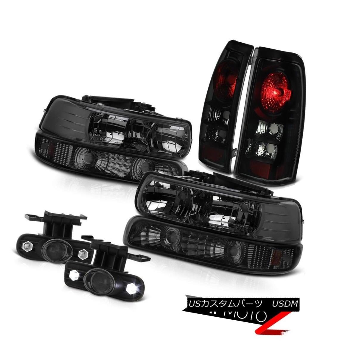 テールライト 1999-2002 Chevrolet Silverado PickUp [SMOKE] Headlight Tail Light Bumper Foglamp 1999-2002 Chevrolet Silverado PickUp [SMOKE]ヘッドライトテールライトバンパーフォグライト