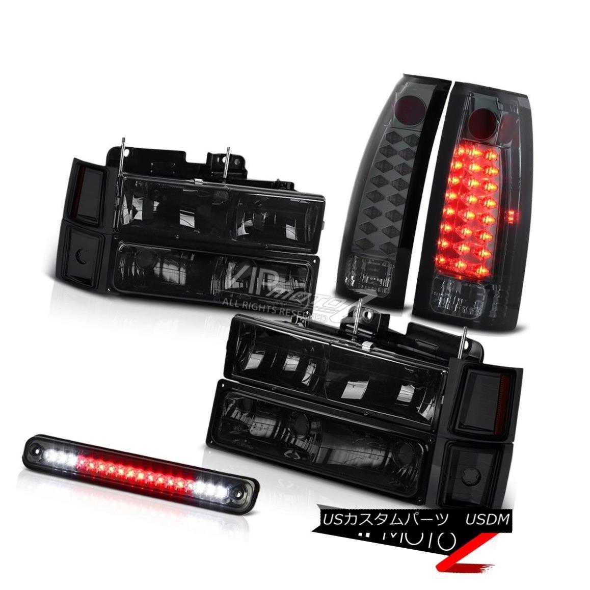 テールライト 94 95 96 97 98 Chevy Silverado CK 1500 2500 Smoke Headlight LED Tail Lamp Lights 94 95 96 97 98 Chevy Silverado CK 1500 2500スモークヘッドライトLEDテールランプライト