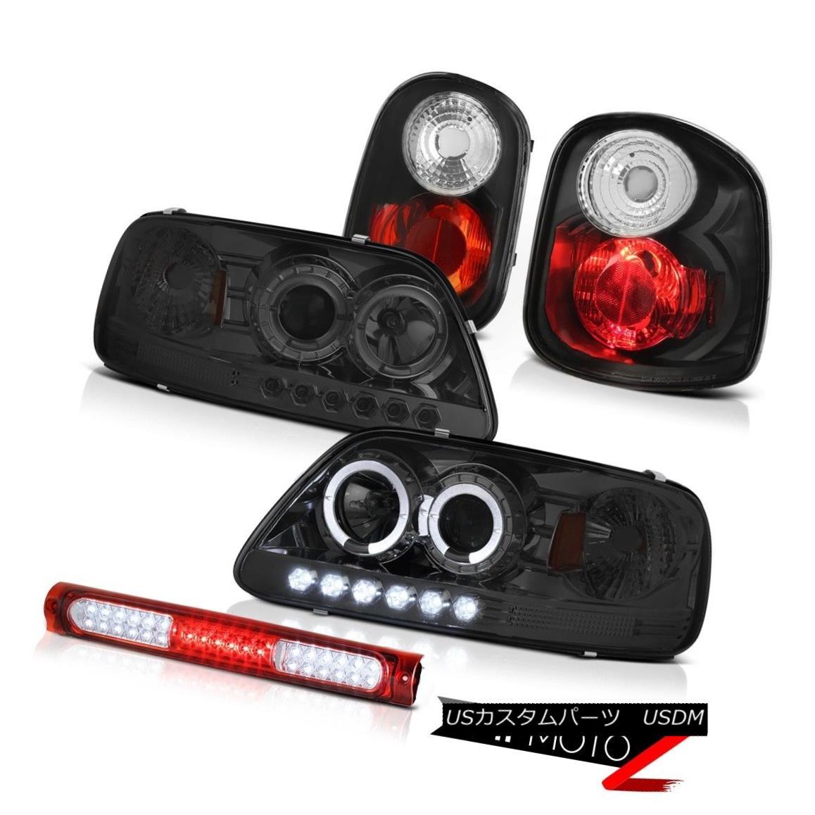 テールライト Projector Headlights Tail Light High Stop LED 2001-2003 F150 Flareside Lightning プロジェクターヘッドライトテールライトハイストップLED 2001-2003 F150 Flareside Lightning