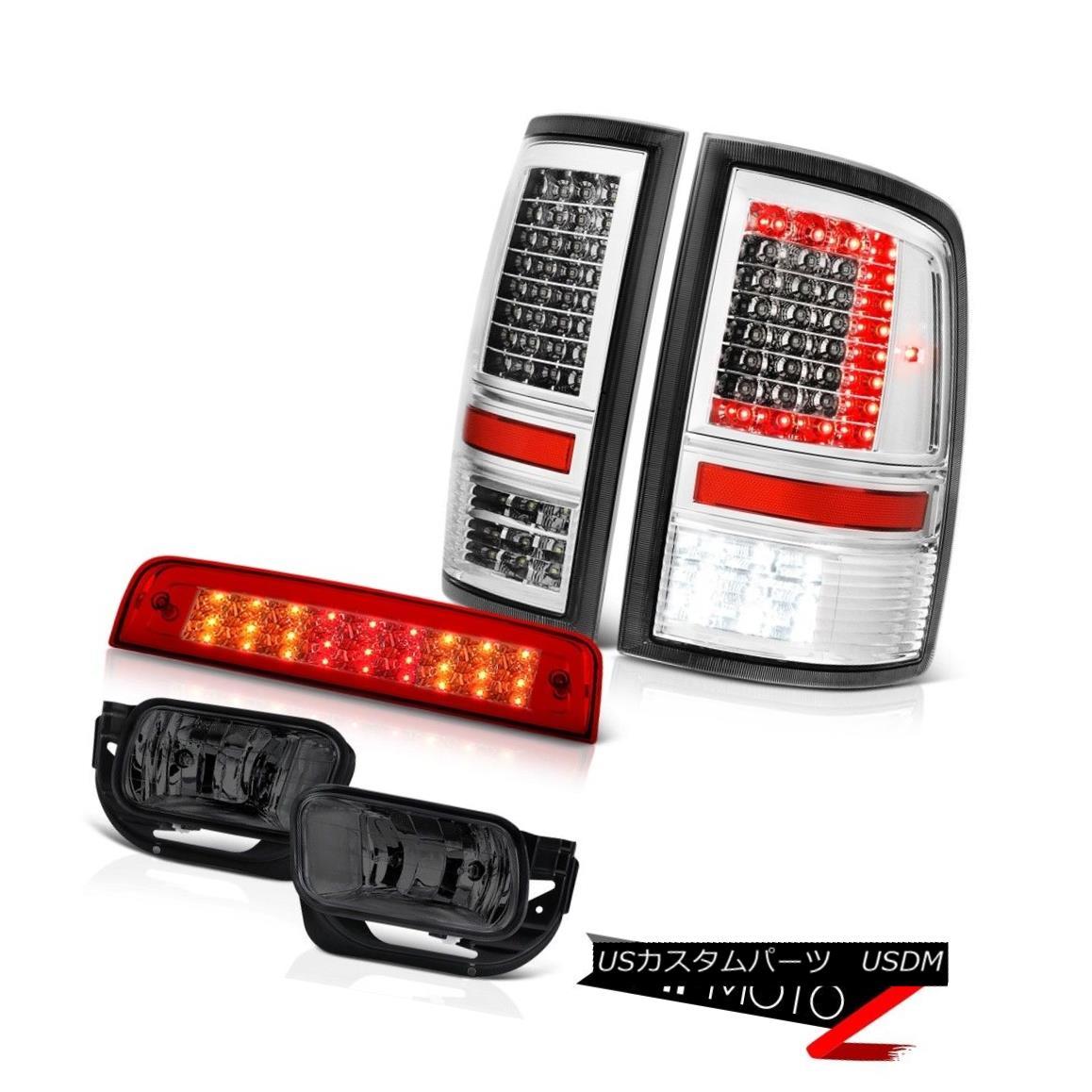 <title>車用品 バイク用品 >> パーツ 超定番 ライト ランプ テールライト 09-13 Dodge RAM 1500 2500 Tail Lamp Red Clear Brake Light Smoked Fog Lights PAIR 09-13ダッジRAM 2500テールランプレッドクリアブレーキライトスモークフォグライトペア</title>