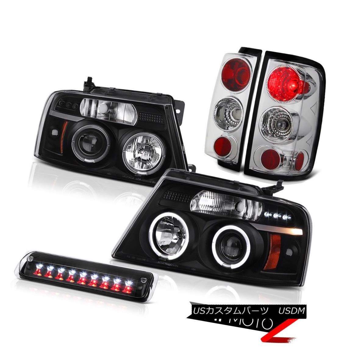 テールライト 04-08 Ford F150 STX Roof Brake Light Headlights Taillights Halo Rim Altezza Euro 04-08フォードF150 STXルーフブレーキライトヘッドライトハローリムアルテッツァユーロ