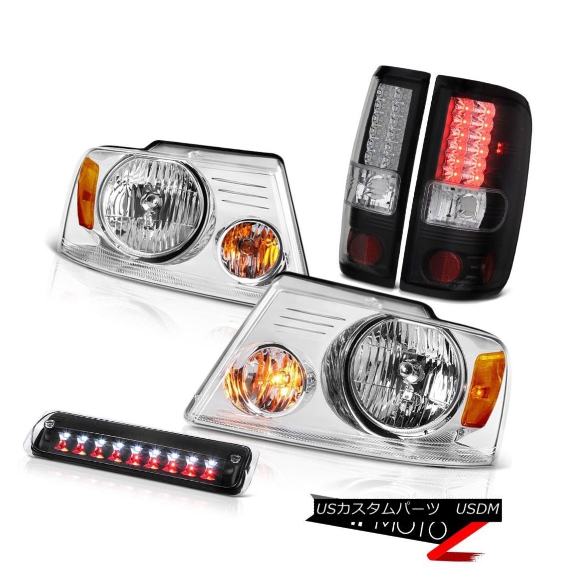 テールライト 04 05 06 07 08 Ford F150 XLT Headlights 3RD Brake Light Parking Lights LED SMD 04 05 06 07 08フォードF150 XLTヘッドライト3RDブレーキライトパーキングライトLED SMD