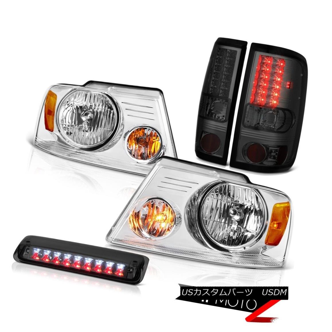 テールライト 04-08 Ford F150 Lariat Headlights Roof Cab Lamp Tail Brake Lamps