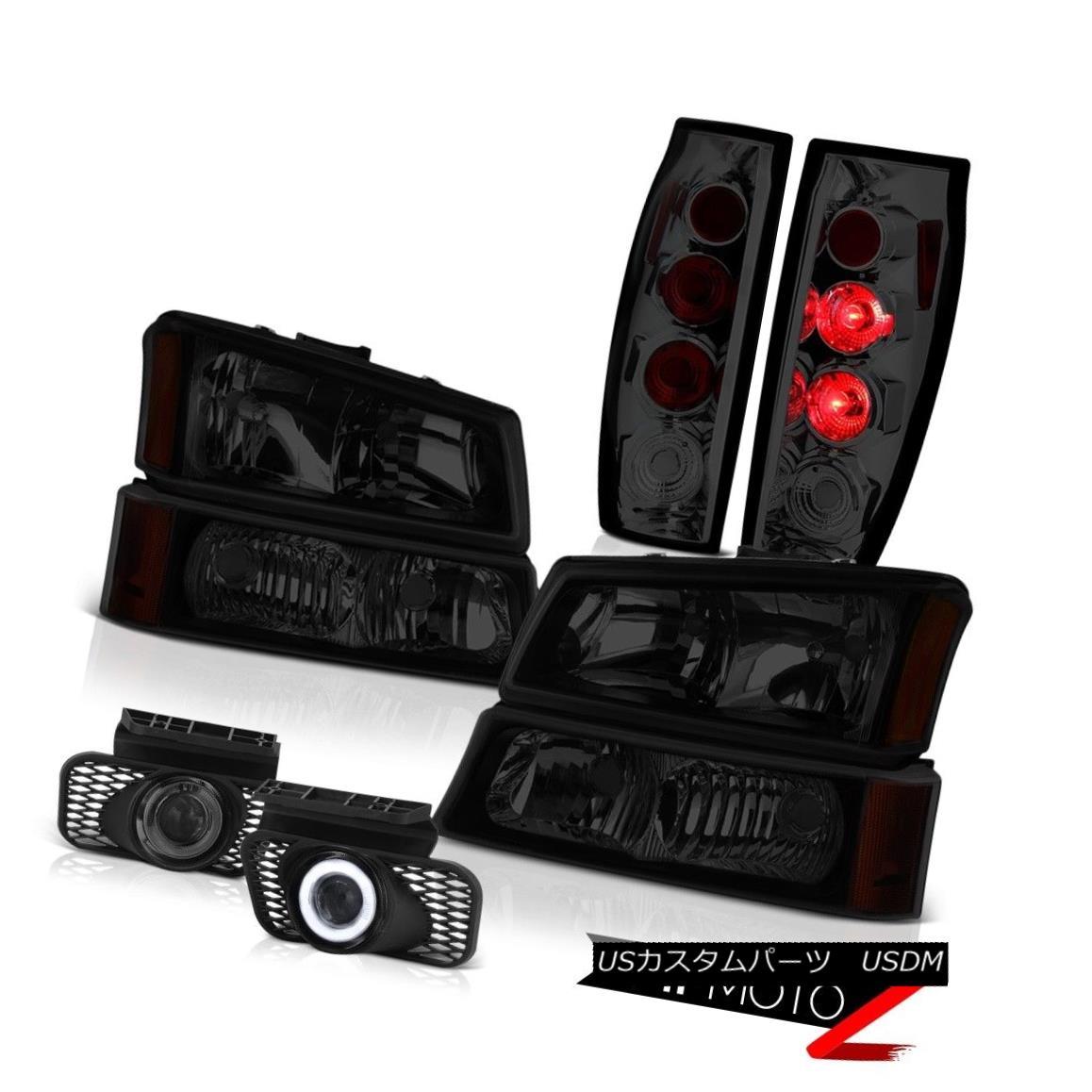 テールライト 03-06 Avalanche 1500 Smokey Fog Lamps Parking Brake Lights Headlights Oe Style 03-06雪崩1500スモーキーフォグランプパーキングブレーキライトヘッドライトオースタイル