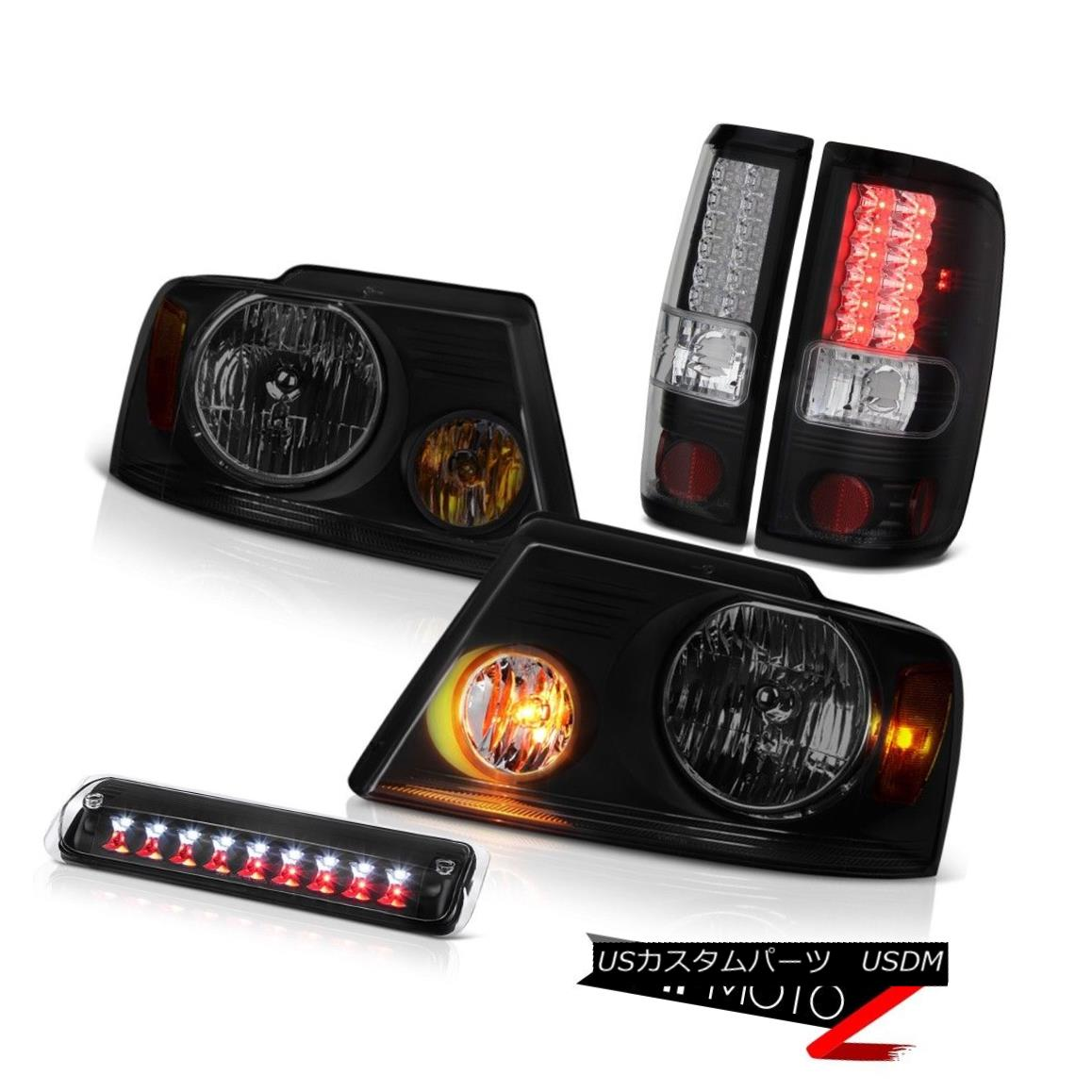 テールライト 04-08 Ford F150 King Ranch Headlamps Third Brake Lamp Taillights