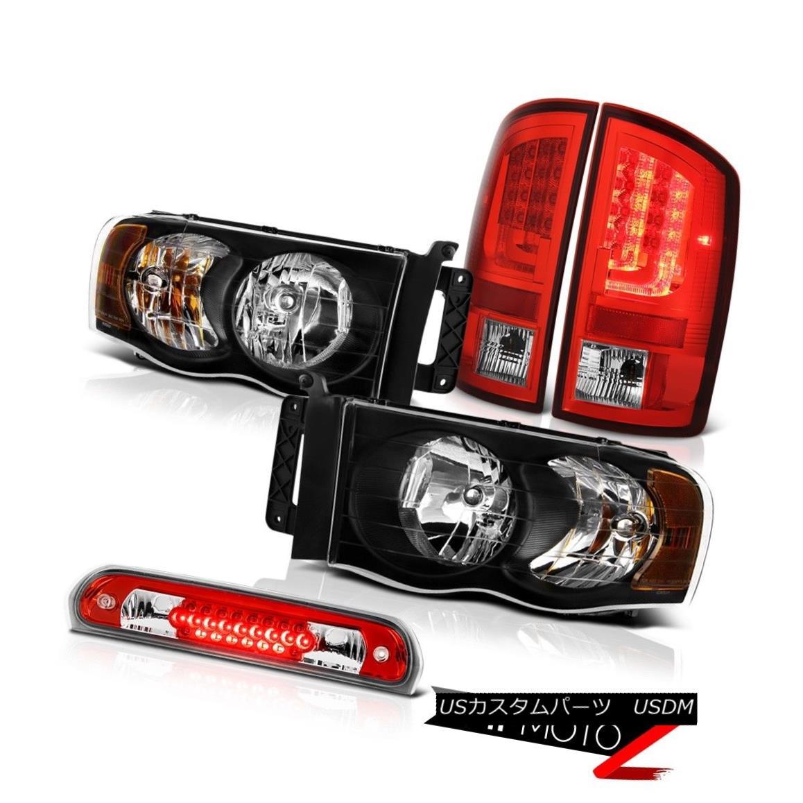 テールライト 02-05 Ram 1500 2500 3500 SLT Red Tail Brake Lights Headlamps Roof Lamp Neon Tube 02-05 Ram 1500 2500 3500 SLTレッドテールブレーキライトヘッドランプルーフランプネオンチューブ