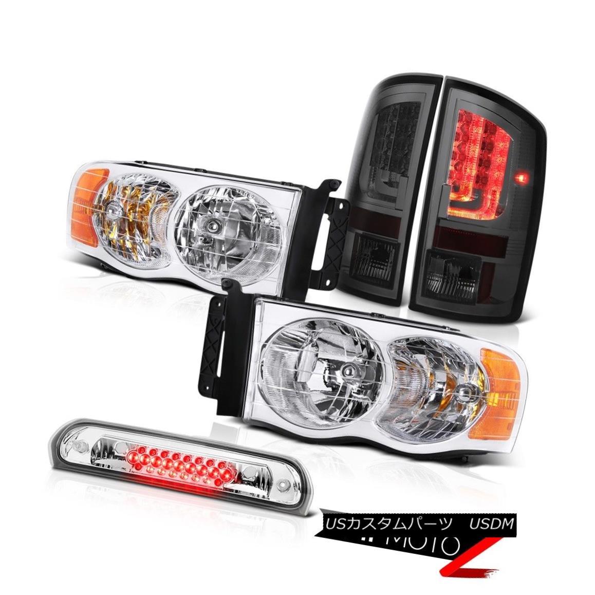 車用品 バイク用品 >> パーツ ライト ランプ テールライト 02-05 Ram 大注目 1500 2500 LED 3RD 70%OFFアウトレット Chrome Brake Lamp Headlamps STテールランプユーロクロームヘッドランプ3RDブレーキランプLED ST Euro 3500 Taillights