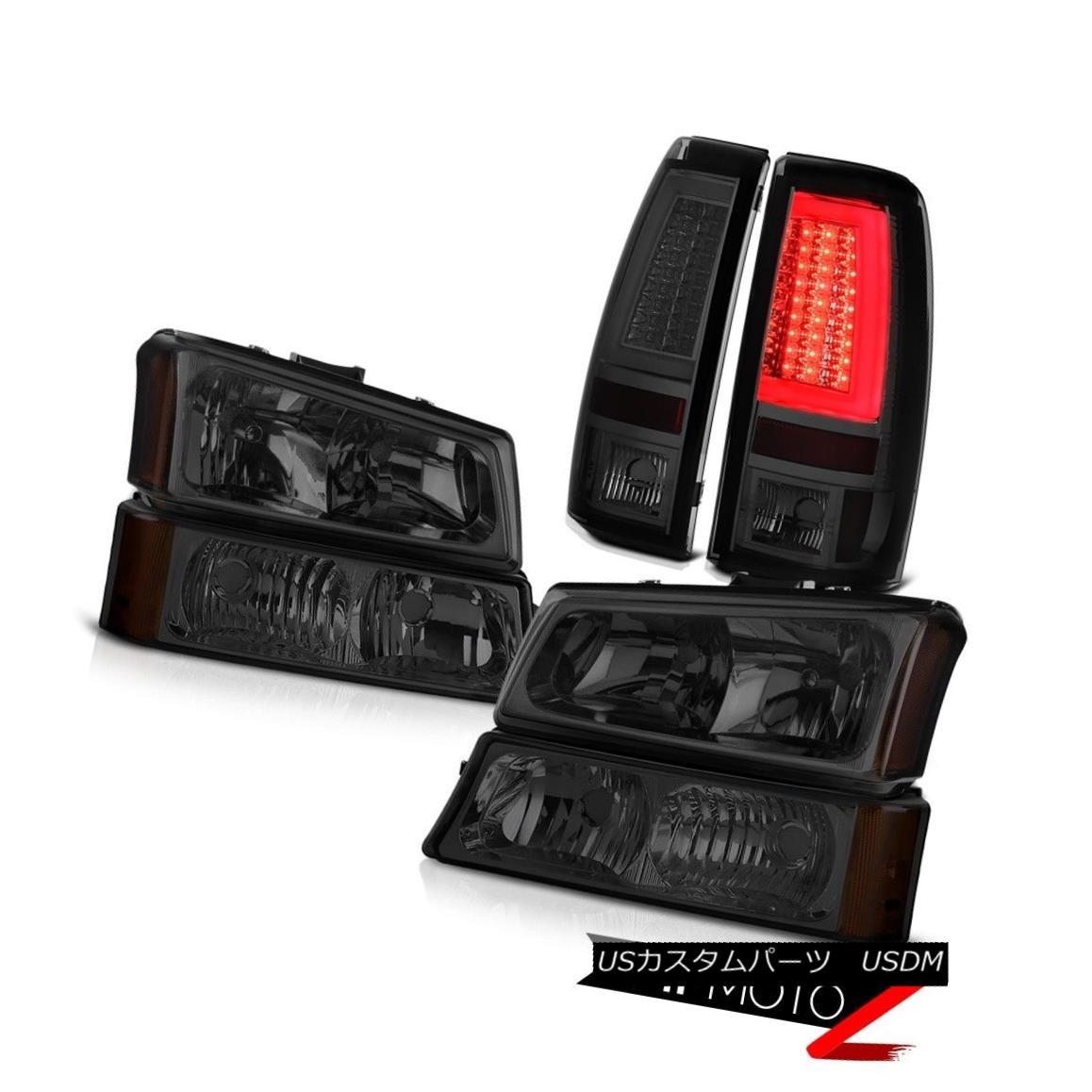 テールライト 03 04 05 06 Silverado Phantom Smoke Taillamps Parking Light Headlamps Light Bar 03 04 05 06 Silverado Phantom Smoke Taillampsパーキングライトヘッドランプライトバー