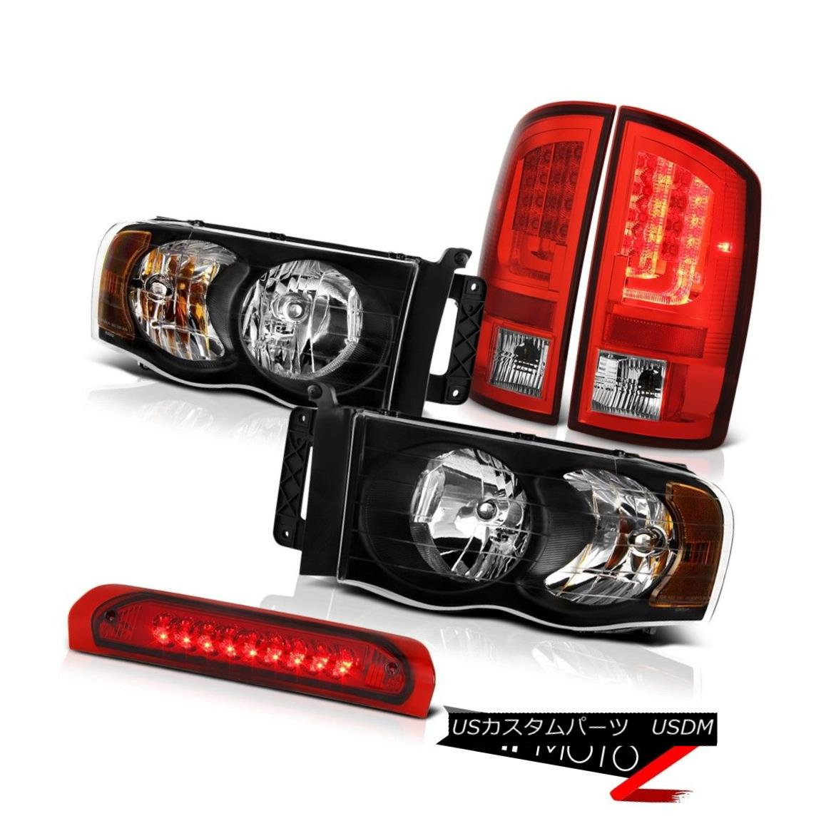 テールライト 2003-2005 Dodge Ram 2500 ST Taillights Headlamps High STop Light Tron STyle LED 2003-2005 Dodge Ram 2500 ST灯台ヘッドランプHigh STop Light Tron STyle LED