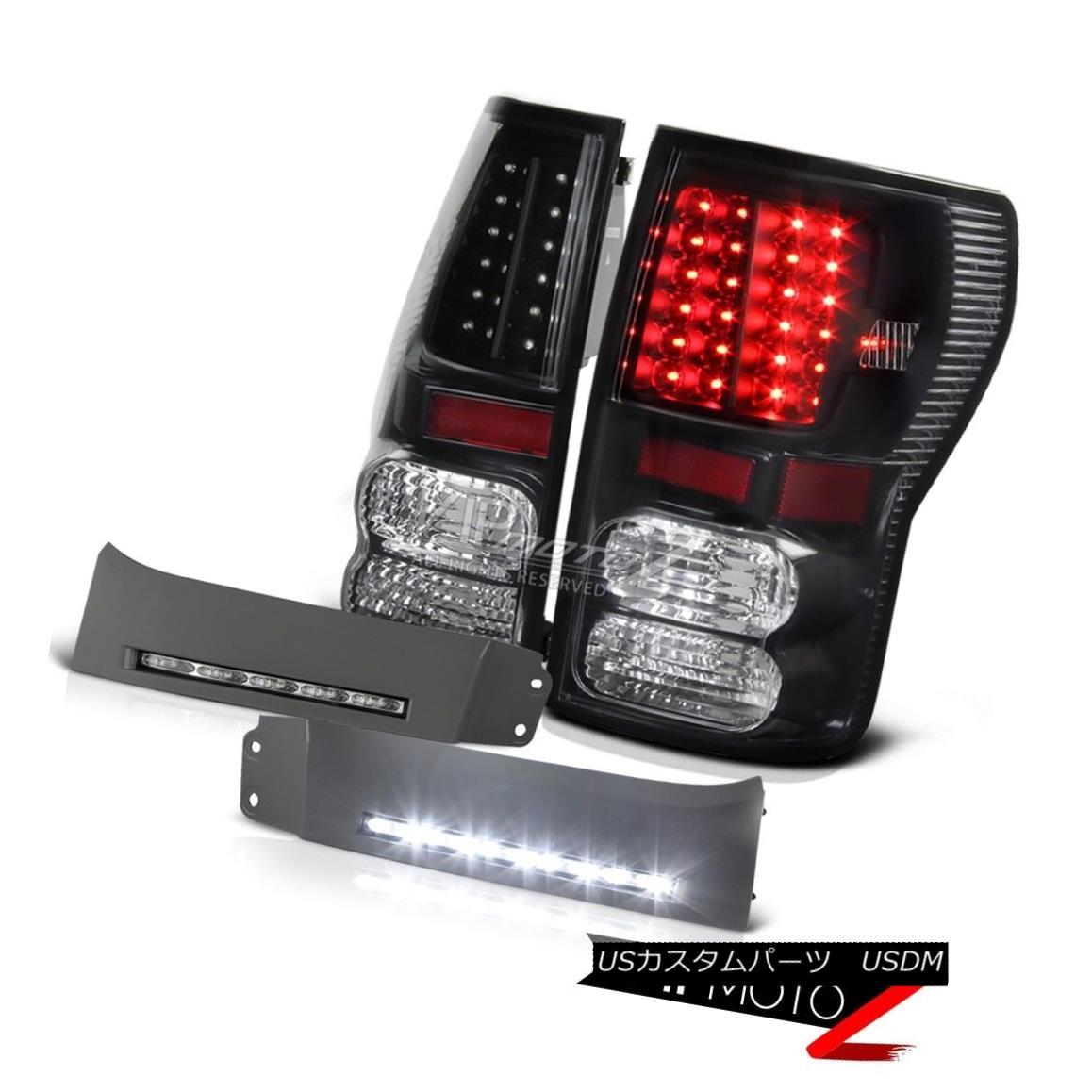 テールライト 2007-2013 Toyota Tundra V8 4.7L Black LED Tail Light World Brightest DRL Fog Kit 2007年?2013年トヨタトンドラV8 4.7LブラックLEDテールライト世界最速DRLフォグキット