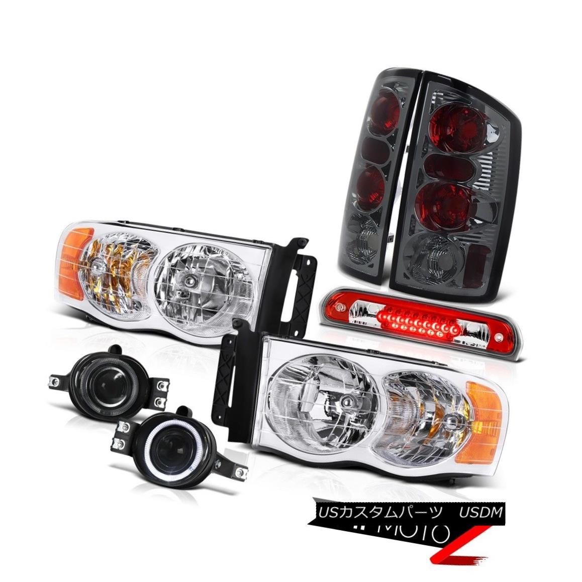 テールライト 02 03 04 05 Ram PowerTech Clear Headlamps Tail Lamps Projector Fog High LED 3rd 02 03 04 05 Ram PowerTechクリアヘッドランプテールランププロジェクターフォグハイLED 3rd