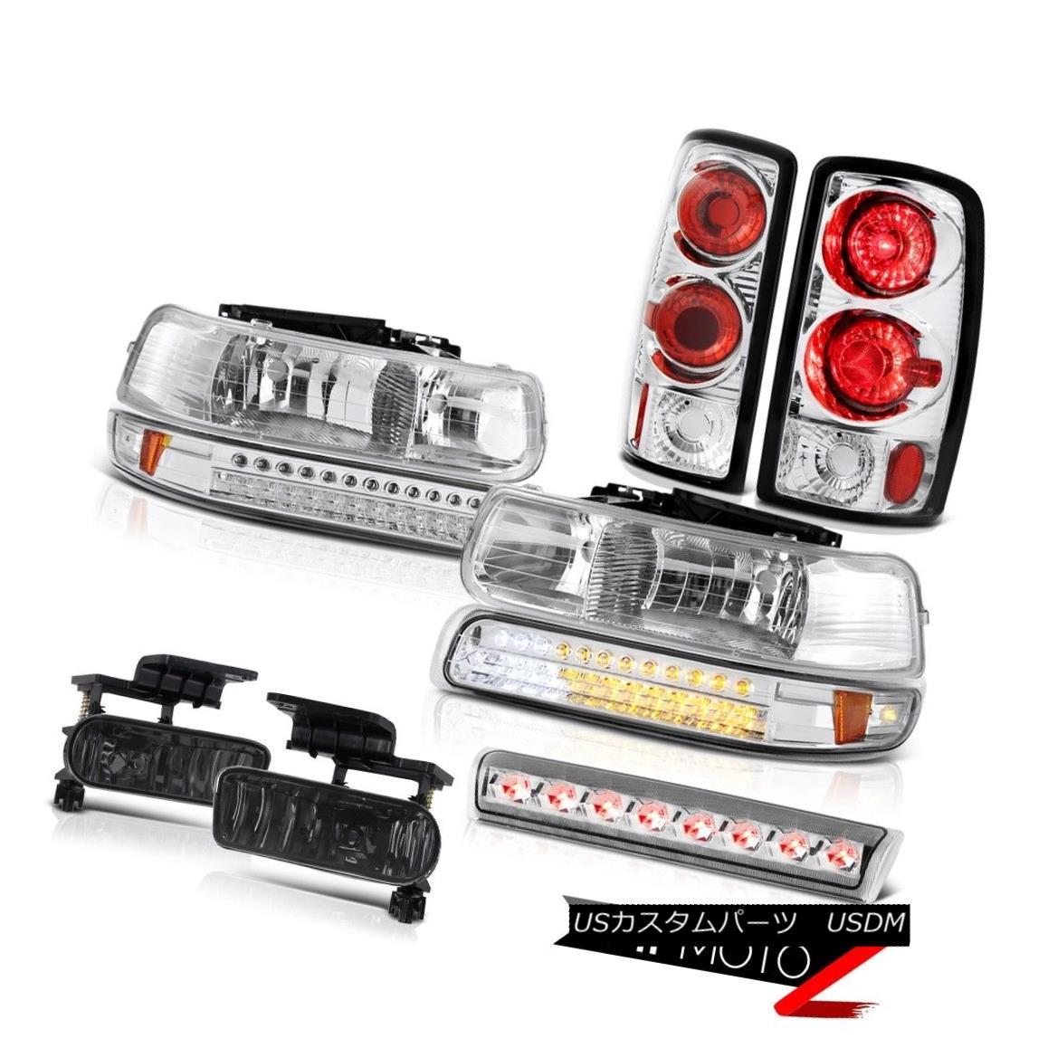 テールライト 2000-2006 Chevy Suburban Z71 Headlamps parking brake lights fog roof Light LED 2000-2006シボレー郊外Z71ヘッドランプパーキングブレーキライトフォグルーフライトLED