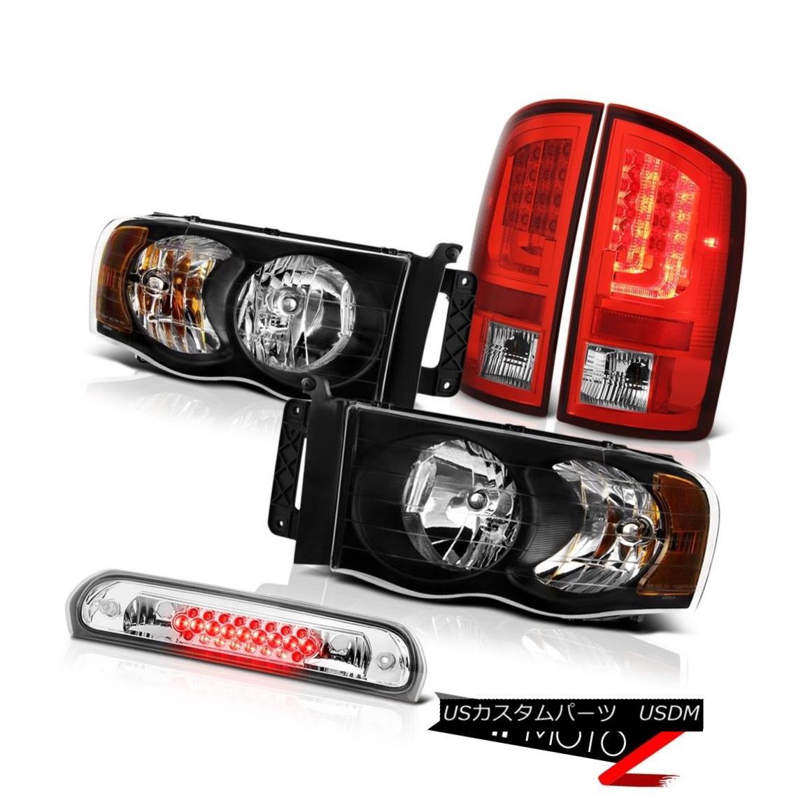 テールライト 2003-2005 Dodge Ram 1500 4.7L Red Taillights Headlamps Roof Cab Lamp