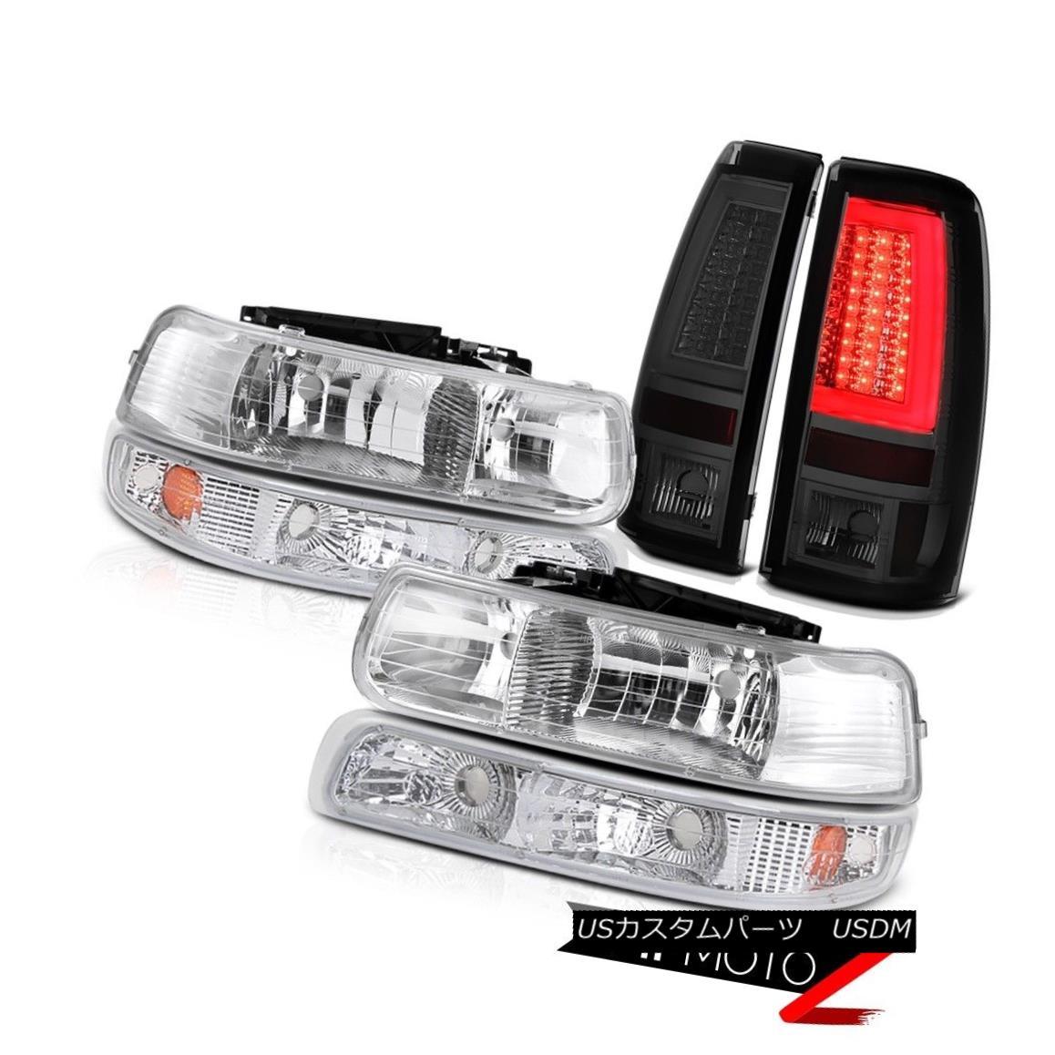 <title>おすすめ 車用品 バイク用品 >> パーツ ライト ランプ テールライト 99-02 Silverado 2500HD Smoked Taillights Headlights Signal Light