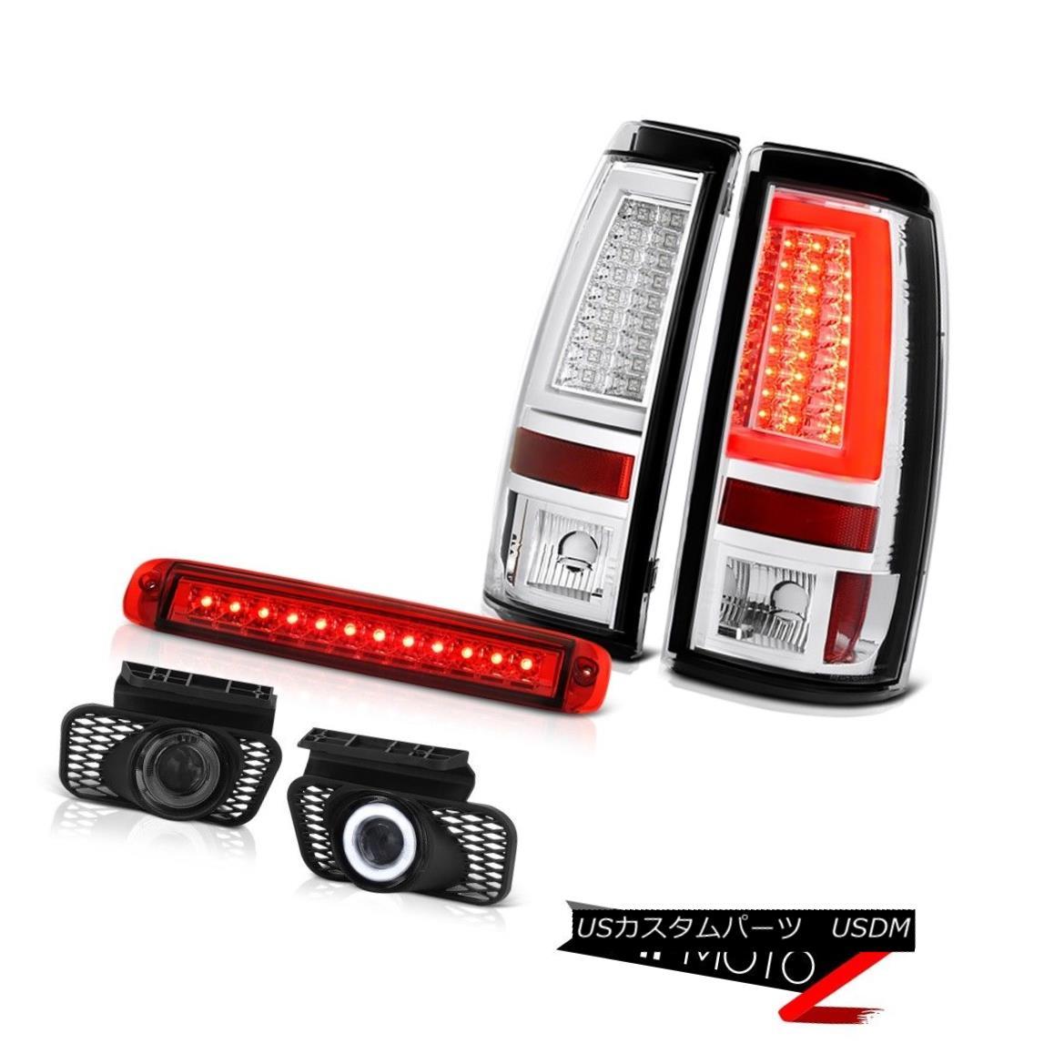 テールライト 03-06 Silverado 1500 Rear Brake Lamps Rosso Red 3RD Lamp Fog Lights OLED Prism 03-06 Silverado 1500リアブレーキランプロッソレッド3RDランプフォグライトOLEDプリズム