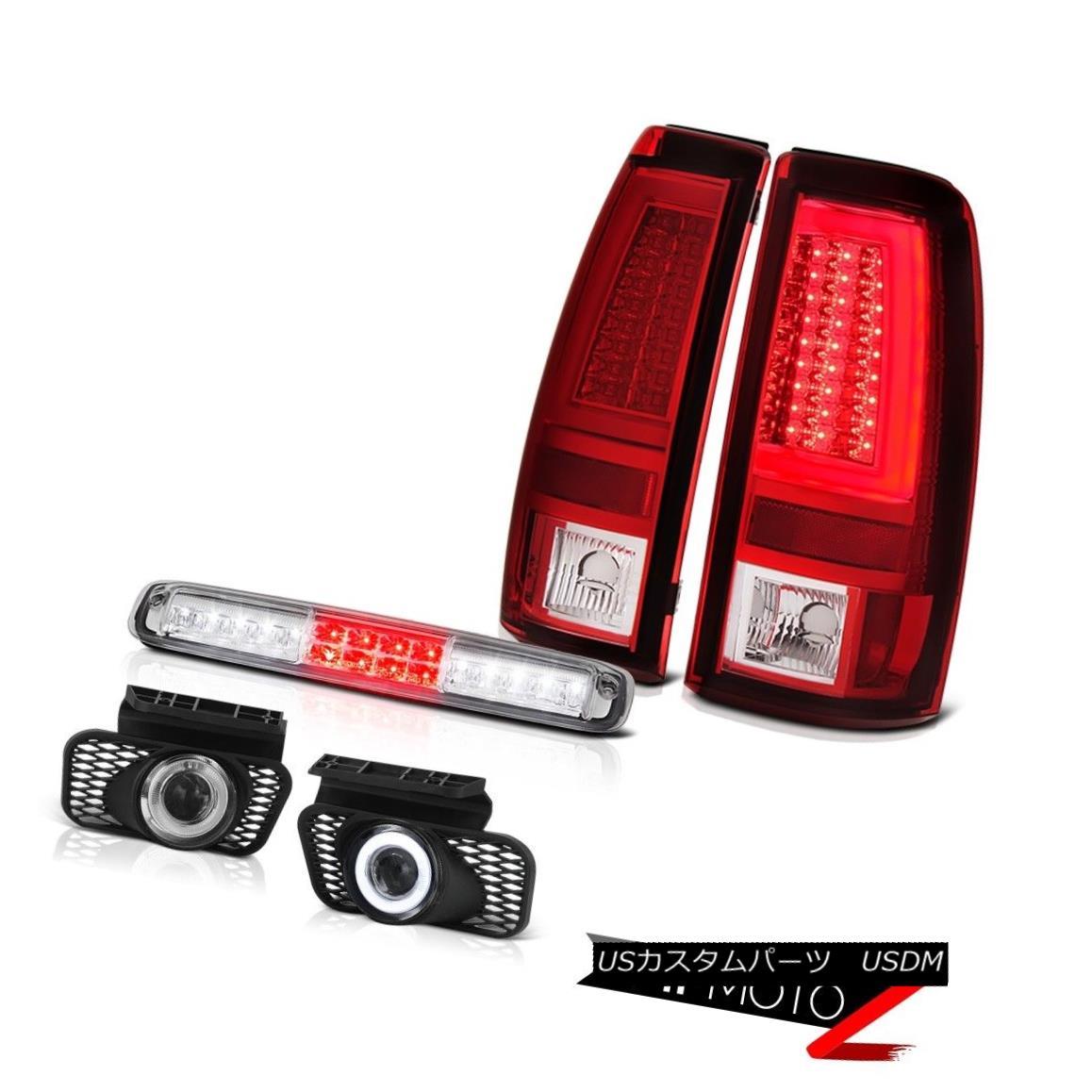 テールライト 03-06 Silverado Tail Lights 3RD Brake Lamp Fog Light Bar Projector