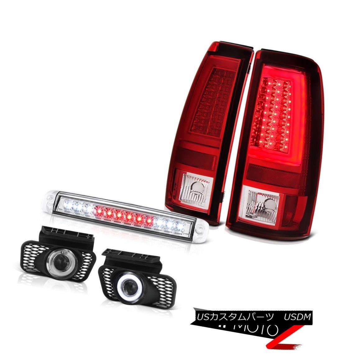 テールライト 03 04 05 06 Silverado 3500Hd Tail Brake Lights 3RD Light Fog Lamps