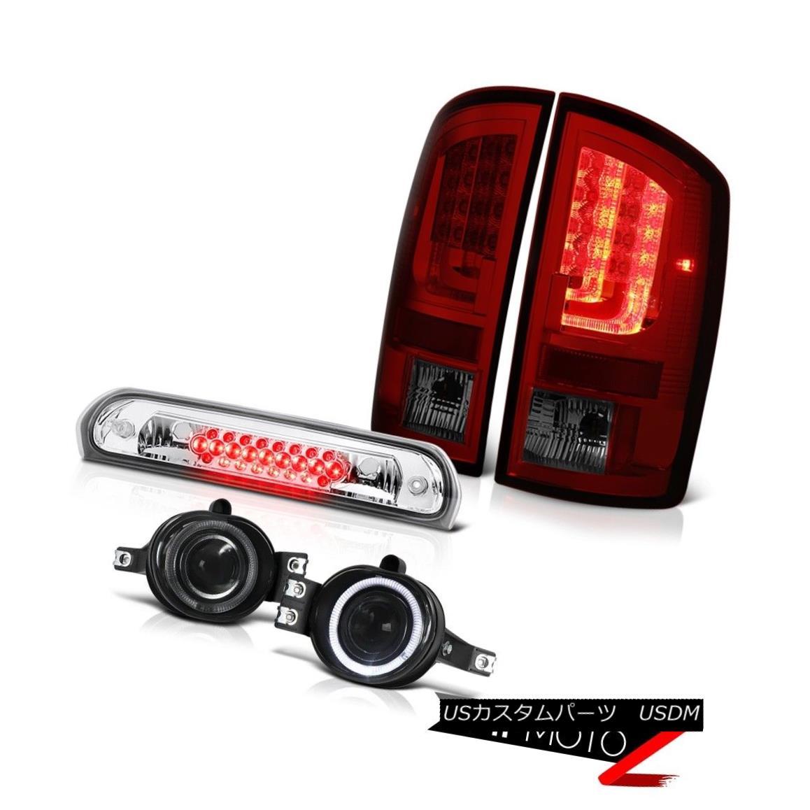 テールライト 2003-2006 Dodge Ram 3500 WS Tail Lamps Fog Euro Clear Roof Cab Light