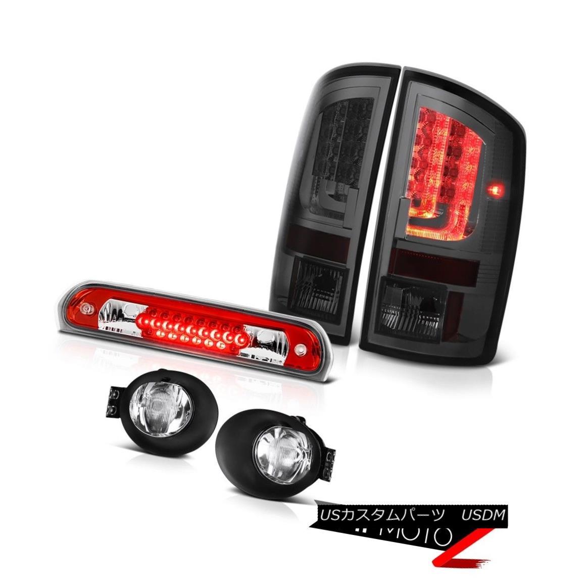 テールライト 02-06 Dodge Ram 2500 3500 WS Rear Brake Lights Foglights Third Light