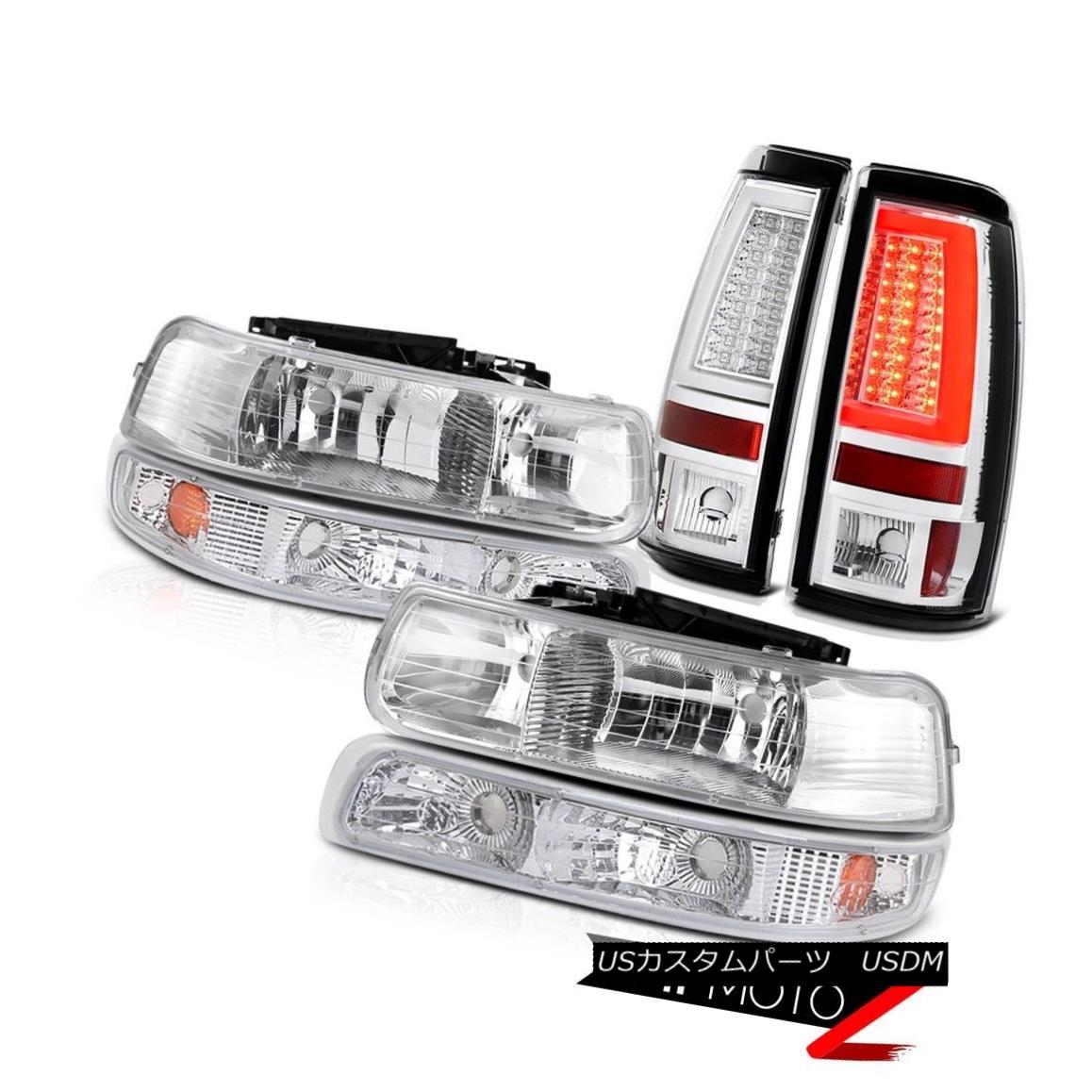 テールライト 99-02 Silverado Z71 Tail Lights Headlights Signal Light OLED Neon Tube Assembly 99-02 Silverado Z71テールライトヘッドライト信号光OLEDネオンチューブアセンブリ