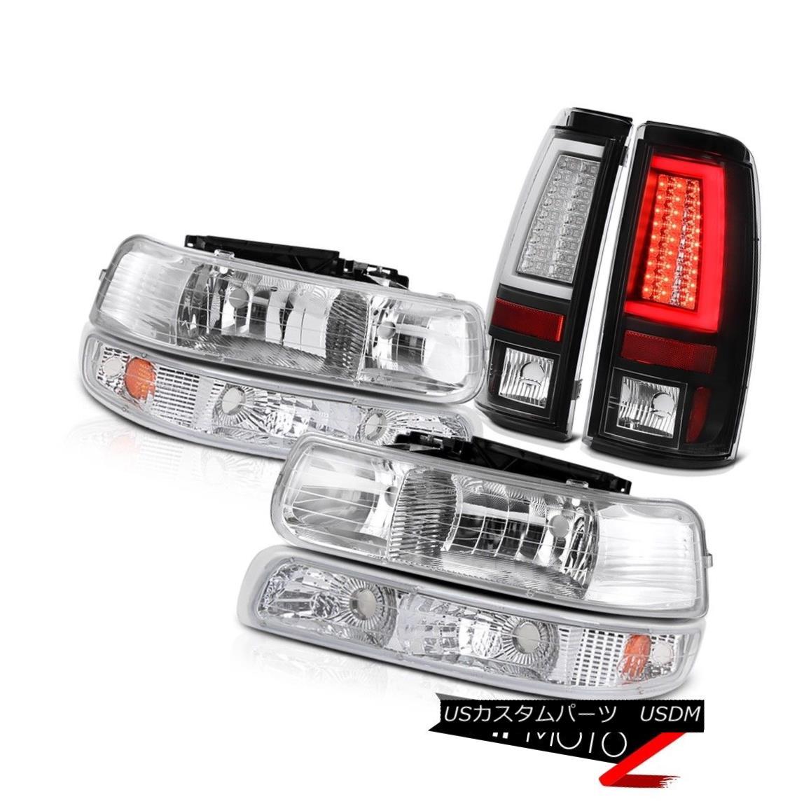 テールライト 1999-2002 Silverado LT Taillamps Headlights Signal Lamp Tron Tube Replacement 1999-2002 Silverado LT Taillampsヘッドライト信号ランプTronチューブの交換