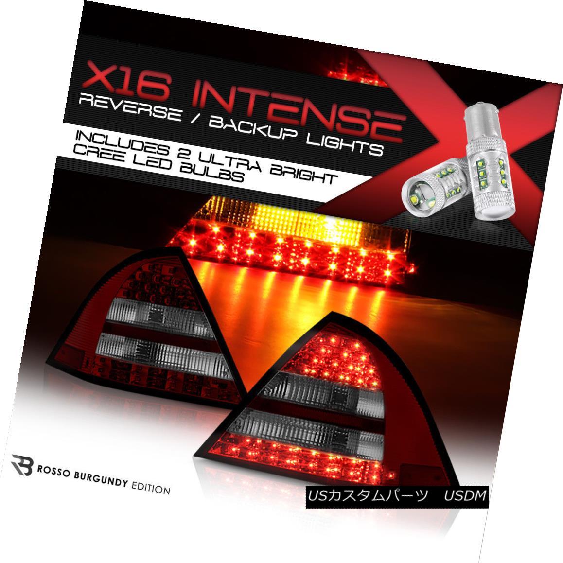 テールライト {High-Power CREE Backup} MBenz W203 C-Class 05-07 SMOKE/RED Super LED Tail Light {ハイパワークリーバックアップ} MBenz W203 Cクラス05-07 SMOKE / REDスーパーLEDテールライト