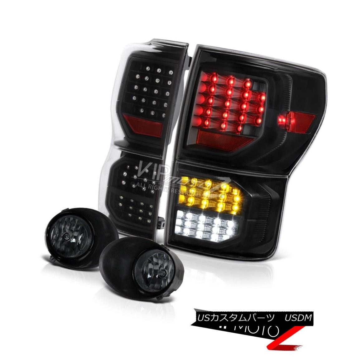 テールライト 07-13 Toyota Tundra Platinum Rear Brake Lamps Fog Lights LED SMD