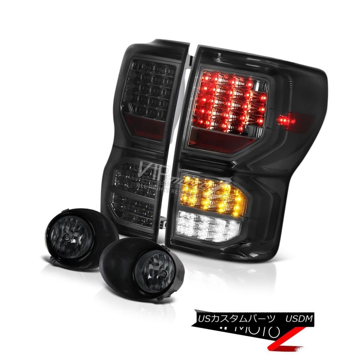 テールライト 07-13 Toyota Tundra SR5 Phantom Smoke Parking Brake Lights Foglights
