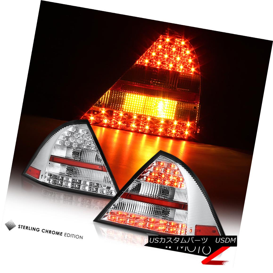 テールライト 05-07 M-BENZ C-CLASS C320 C230 Chrome Diamond LED Brake Signal Lamp Tail Light 05-07 M-BENZ C-CLASS C320 C230クロームダイヤモンドLEDブレーキ信号ランプテールライト
