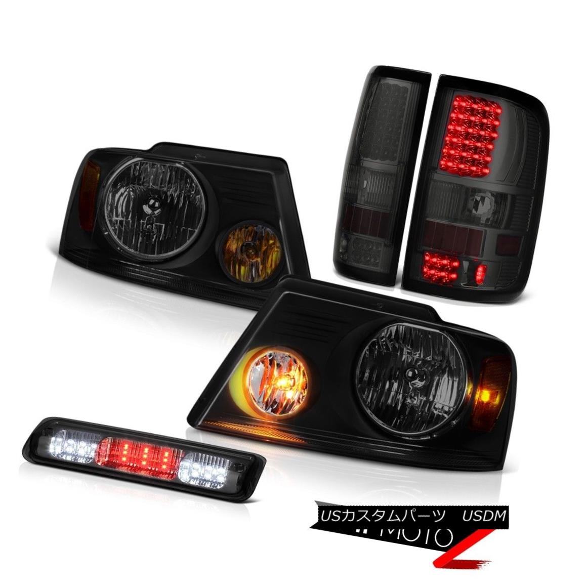 テールライト 04-08 Ford F150 STX High Stop Light Headlamps Tail Lights LED OE Style Assembly 04-08 Ford F150 STXハイストップライトヘッドランプテールライトLED OEスタイルアセンブリ