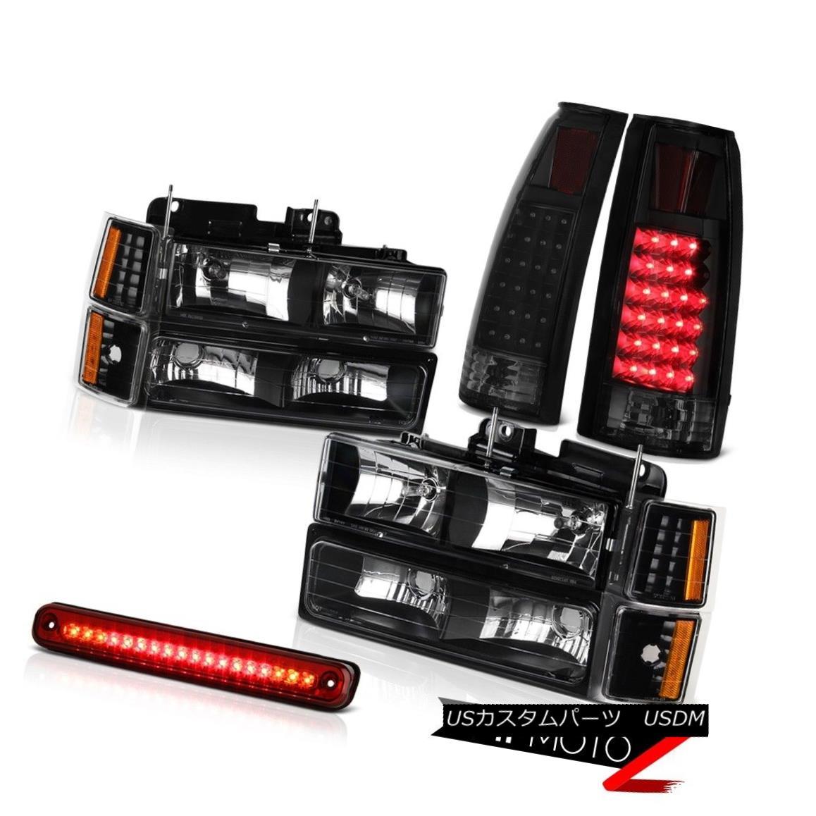 テールライト 94-98 Chevy C/K Truck Roof Cargo Lamp Tail Lights Corner Bumper Lamps Headlights 94-98シボレーC / Kトラック屋根貨物ランプテールライトコーナーバンパーランプヘッドライト