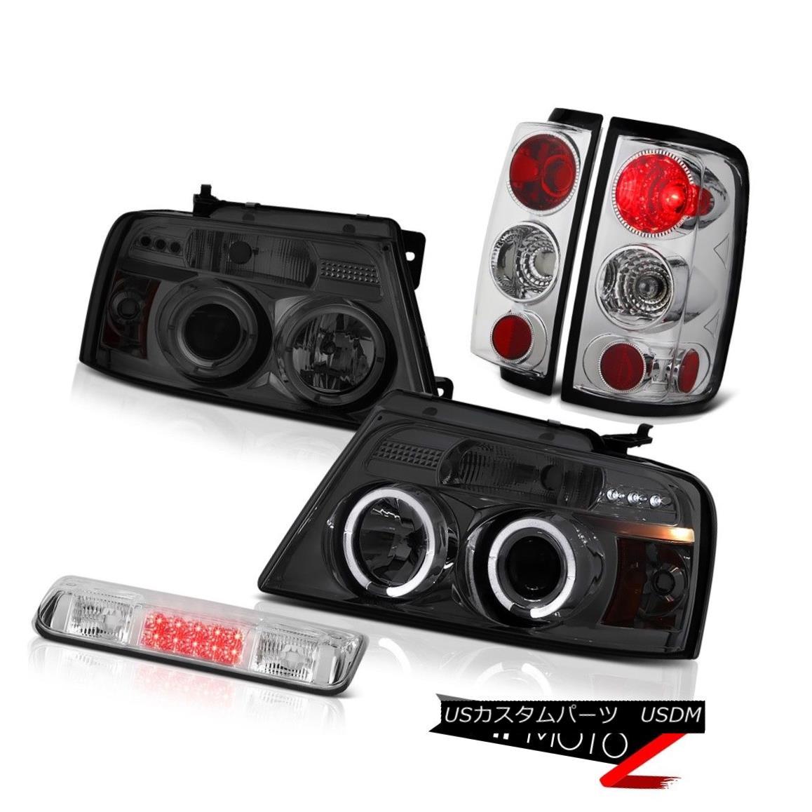テールライト 04-08 Ford F150 STX Euro Chrome 3rd Brake Light Headlamps Tail Lights Altezza 04-08 Ford F150 STX Euro Chrome第3ブレーキライトヘッドライトテールライトAltezza