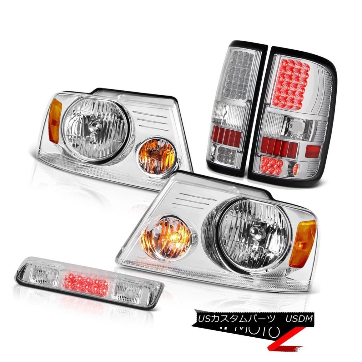 テールライト 04-08 Ford F150 Lariat 3rd Brake Light Headlamps Tail Lights LED