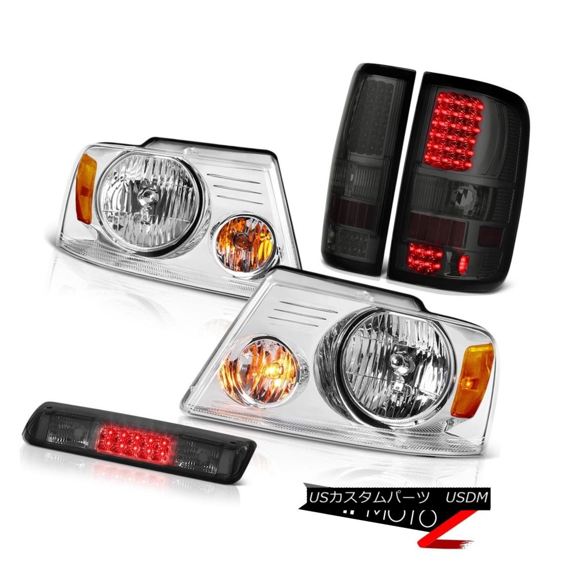 テールライト 2004-2008 Ford F150 XLT Third Brake Lamp Headlights Tail Lights LED