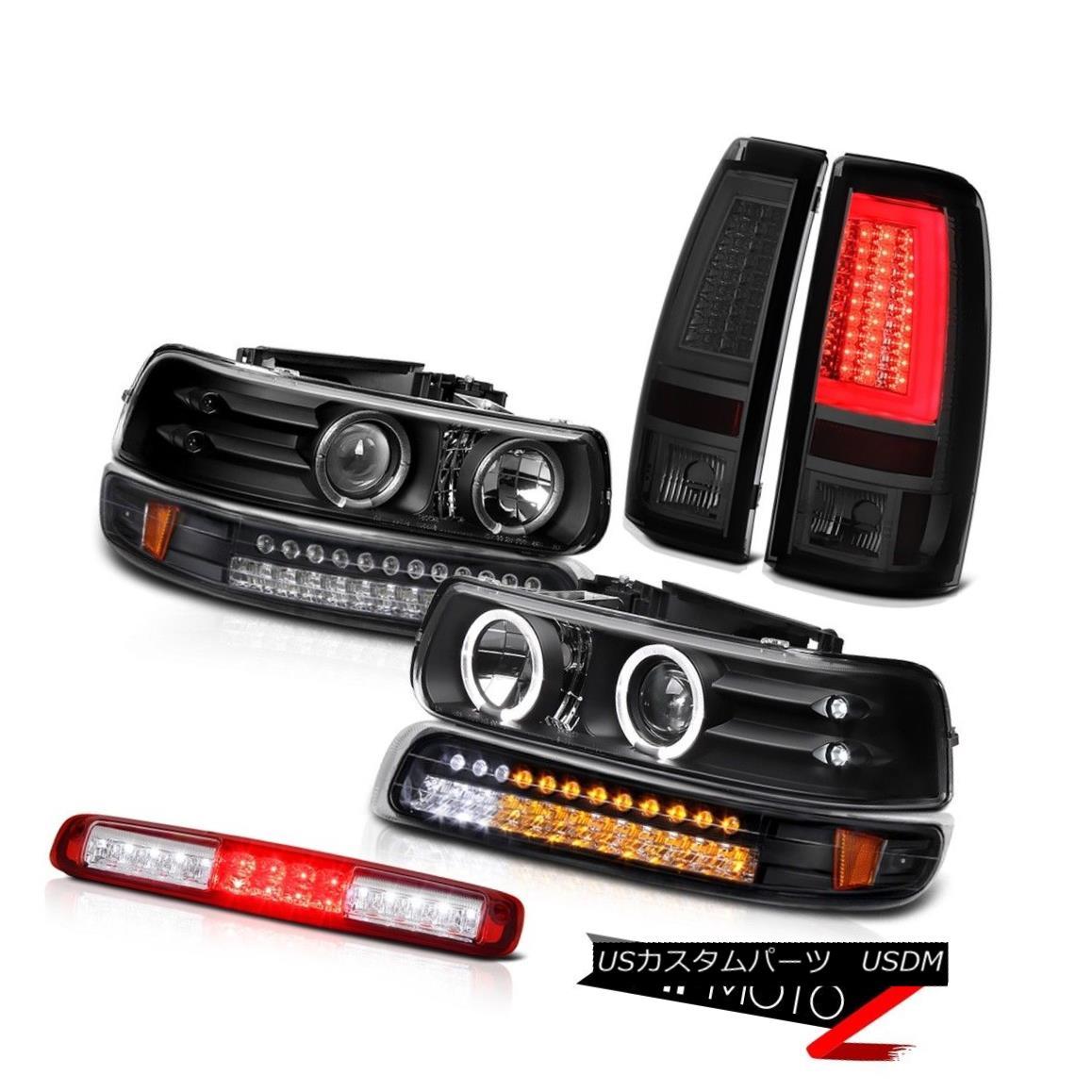 テールライト 99-02 Silverado 1500 Tail Lights Roof Cab Lamp Bumper Light Headlamps Tron Tube 99-02 Silverado 1500テールランプルーフキャブランプバンパーライトヘッドランプトロンチューブ