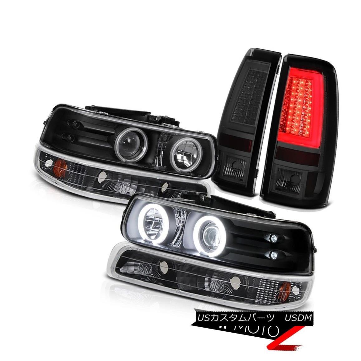 テールライト 99 00 01 02 Silverado LS Taillamps Bumper Lamp Headlights Neon Tube