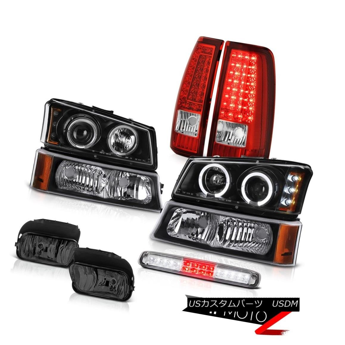 テールライト 03-06 Chevy Silverado Roof Cargo Light Fog Lights Tail Parking Lamp Headlights 03-06 Chevy Silverado Roof Cargoライトフォグライトテールパーキングランプヘッドライト